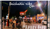 Baishakhi vibe on at Bailey Road
